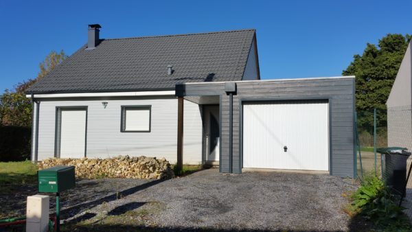 Maison Ossature Bois-Extension-ProduBois Oise Somme Amiens Beauvais