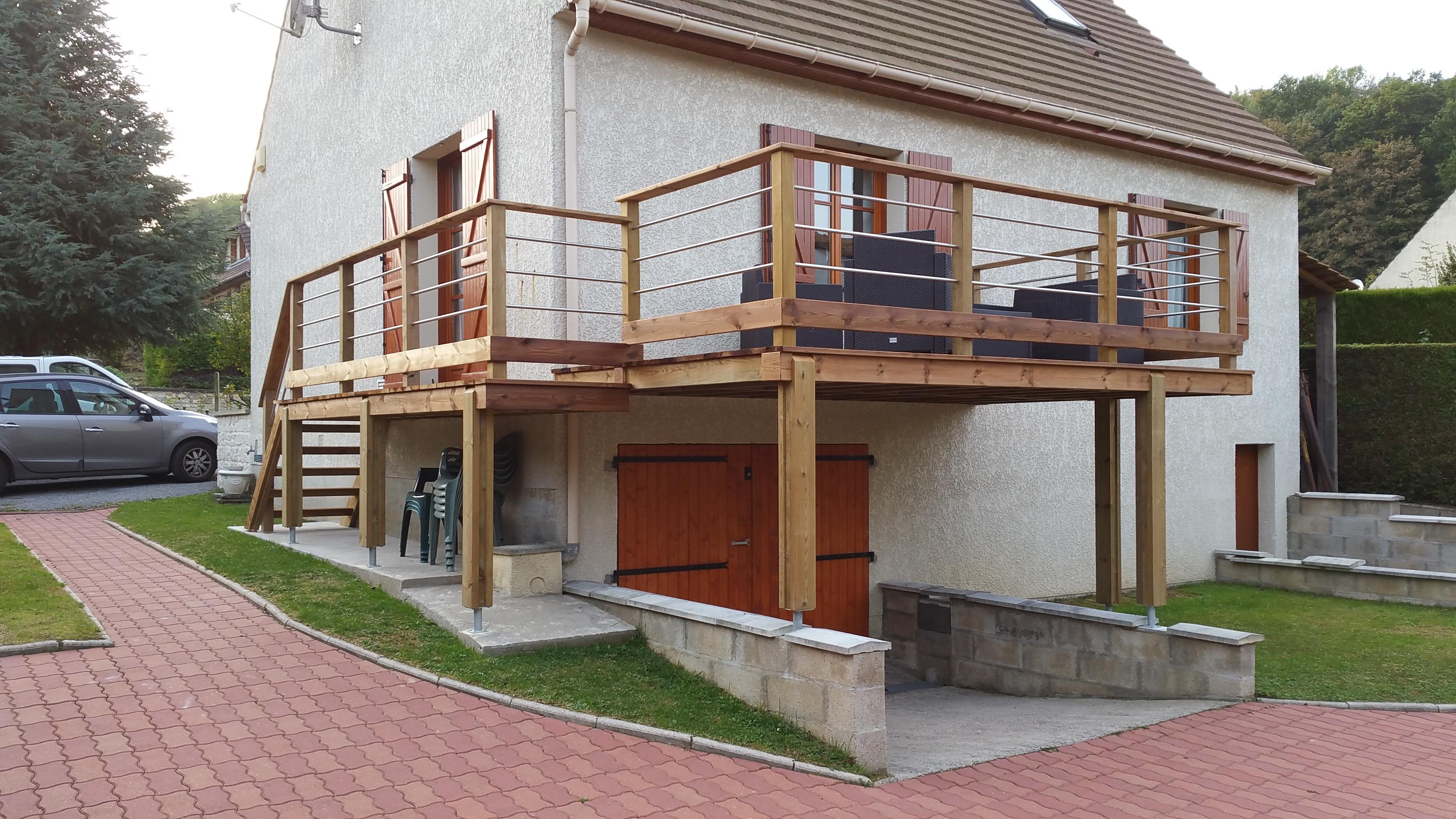Terrasse En Bois Oise terrasse bois - produbois